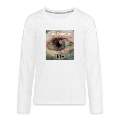 Iris - Premium langermet T-skjorte for tenåringer