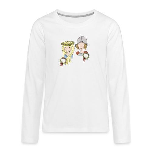 Mittelalter Reisiger - Teenager Premium Langarmshirt