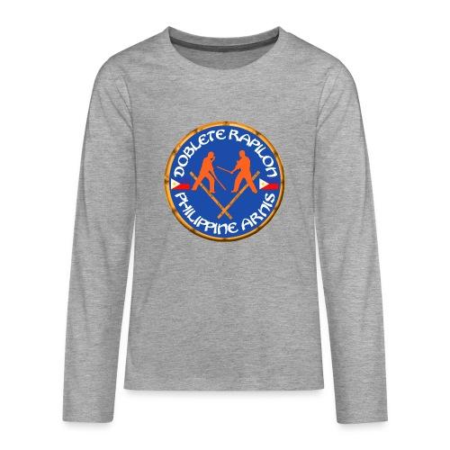 Arnis Kali Doblete Rapilon - T-shirt manches longues Premium Ado