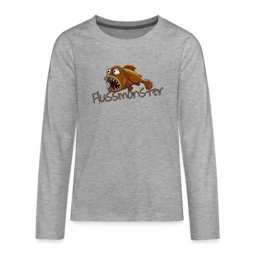 Flussmonster - Teenager Premium Langarmshirt