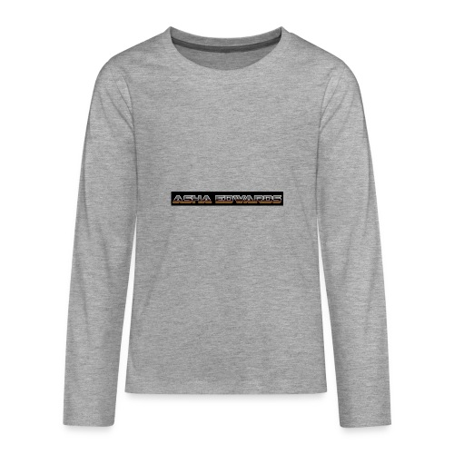 Asha_Edwards_Merch_ - Teenagers' Premium Longsleeve Shirt