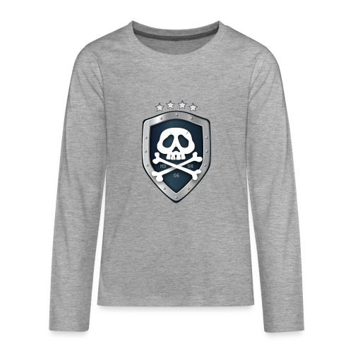 champion's league skull 06 - T-shirt manches longues Premium Ado