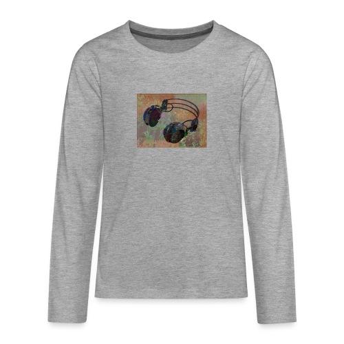 Fashion (dance music) - Teenagers' Premium Longsleeve Shirt