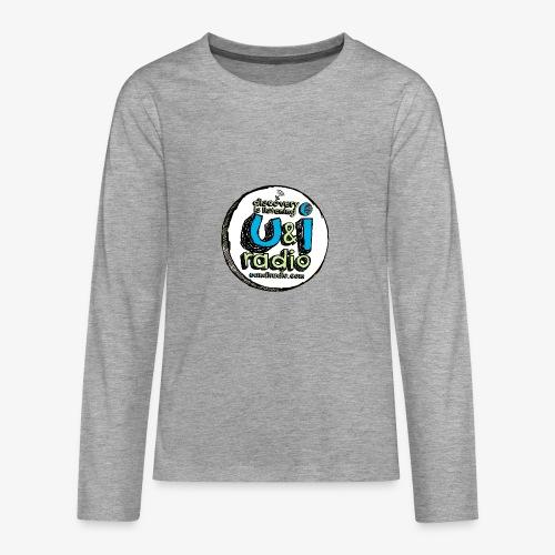 U & I Logo - Teenagers' Premium Longsleeve Shirt