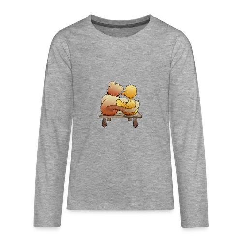 Freunde für immer - Teenager Premium Langarmshirt