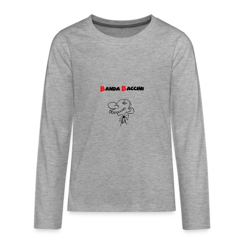 Banda Baccini. - Maglietta Premium a manica lunga per teenager