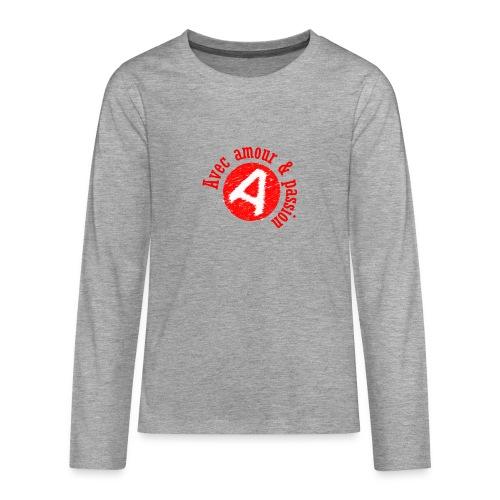 Agapao, - T-shirt manches longues Premium Ado