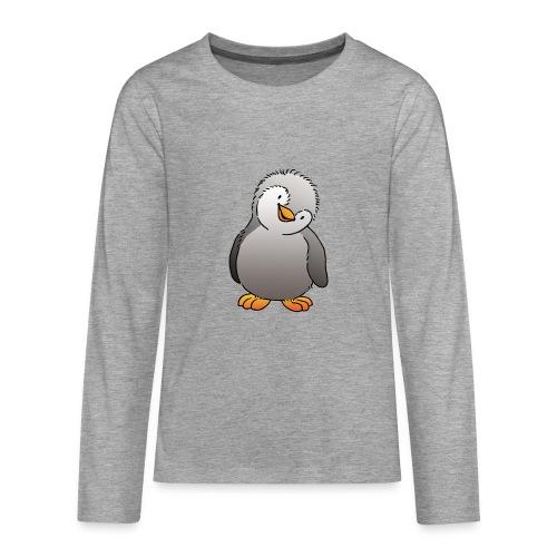 Pinguin Felix - Teenager Premium Langarmshirt