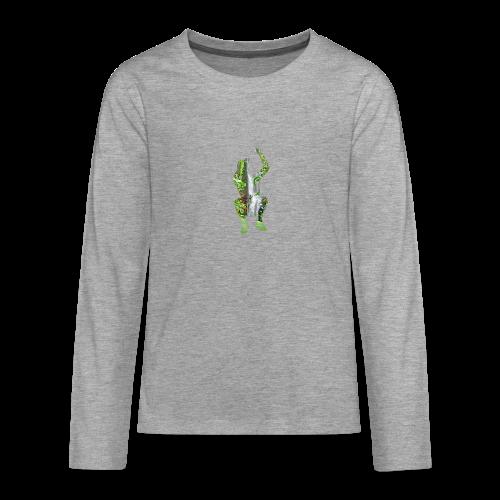 Jump into Adventure - Teenager Premium Langarmshirt