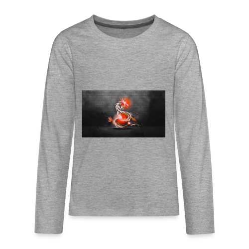 dark dragons - Teenagers' Premium Longsleeve Shirt