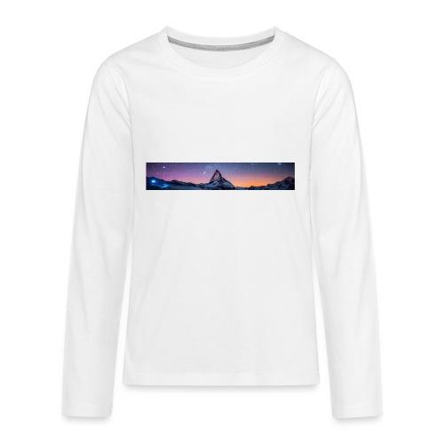 Mountain sky - Teenager Premium Langarmshirt