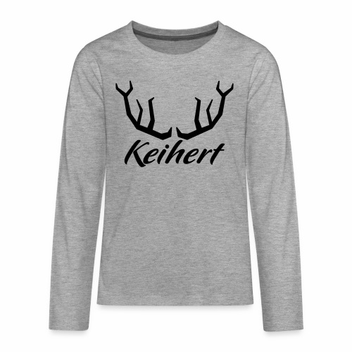 Keihert gaan - Teenager Premium shirt met lange mouwen