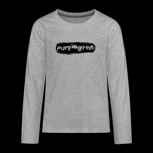 purplegreen Nici - Teenager Premium Langarmshirt