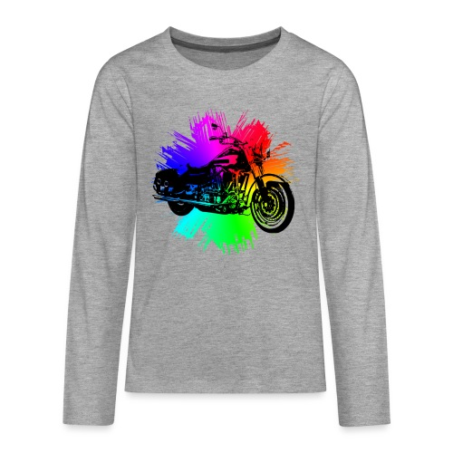 VINTAGE MOTORRAD - Teenager Premium Langarmshirt