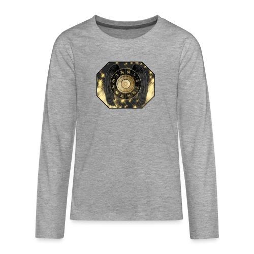Your-Child Stjernetegn - Teenager premium T-shirt med lange ærmer