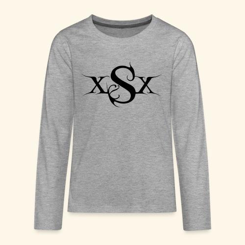 SynapsEyes Logo mittel - Teenager Premium Langarmshirt