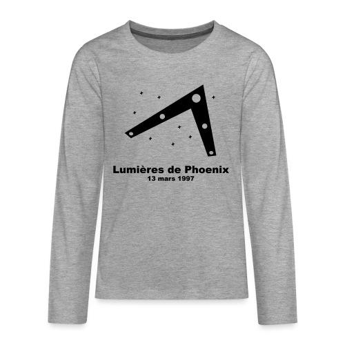 OVNI Lumieres de Phoenix - T-shirt manches longues Premium Ado