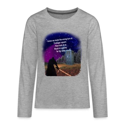 Bad Parking - Teenagers' Premium Longsleeve Shirt
