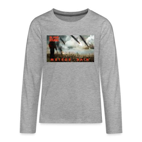 Meteor rain - Maglietta Premium a manica lunga per teenager