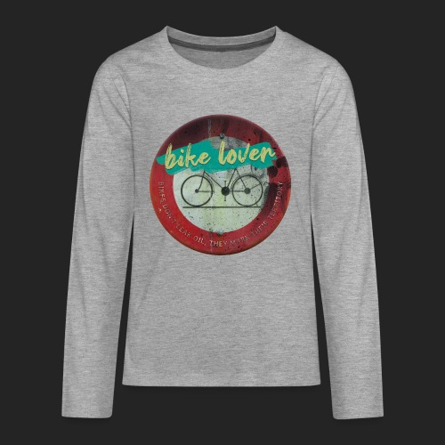 Bike lover - T-shirt manches longues Premium Ado