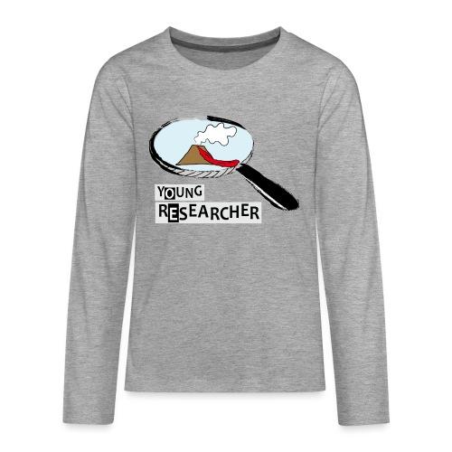 Young Researcher Volcano Wissenschaft - Teenager Premium Langarmshirt