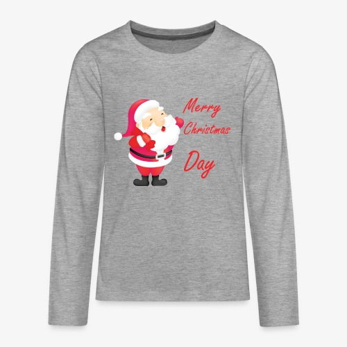 Merry Christmas Day Collections - T-shirt manches longues Premium Ado