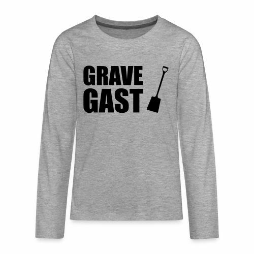 Grave gast - Teenager Premium shirt met lange mouwen