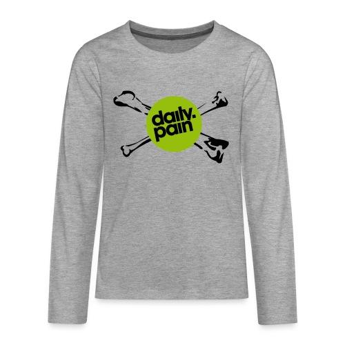 daily pain cho kark - Koszulka Premium z długim rękawem dla nastolatków