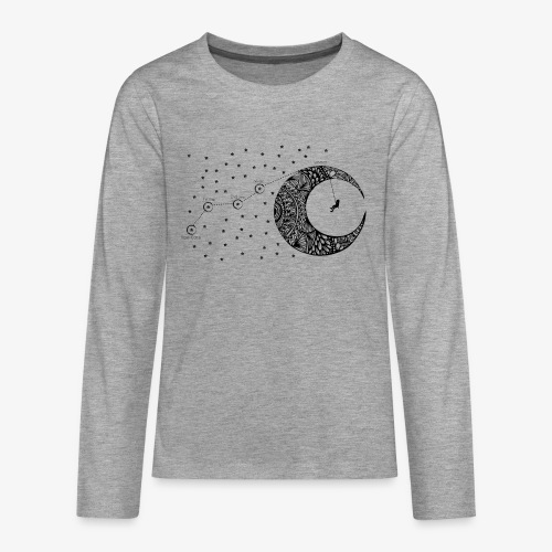 Dream your routes - Teenagers' Premium Longsleeve Shirt