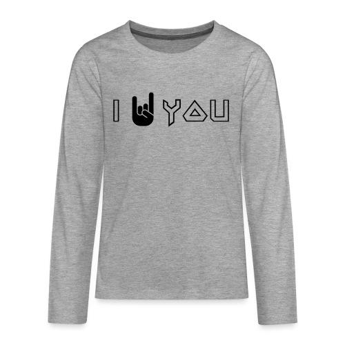 i rock vous - T-shirt manches longues Premium Ado