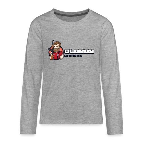 Oldboy Gamers Fanshirt - Premium langermet T-skjorte for tenåringer