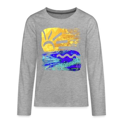 StrandEntlang - Teenager Premium Langarmshirt