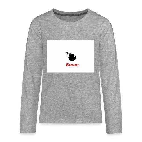 Bomba - Koszulka Premium z długim rękawem dla nastolatków