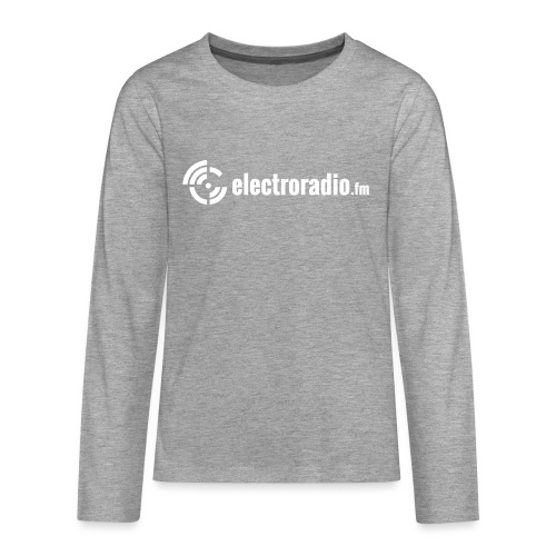electroradio.fm - Teenagers' Premium Longsleeve Shirt