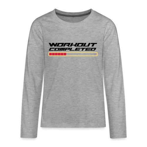 Workout Komplett - Teenager Premium Langarmshirt
