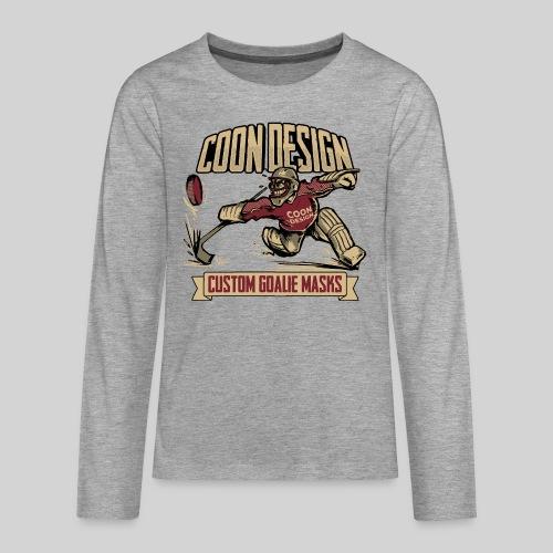CoonDesign - Goalie - Teenager Premium Langarmshirt