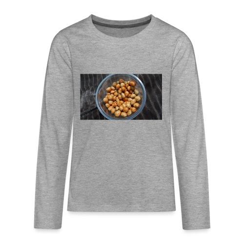 Cacahuate - Camiseta de manga larga premium adolescente