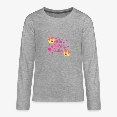 Fuck vad skit - Långärmad premium T-shirt tonåring