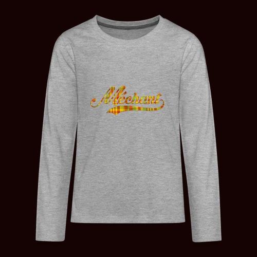 méchant madras - T-shirt manches longues Premium Ado