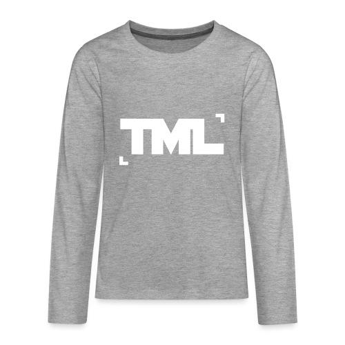 Logo-NB - Teenagers' Premium Longsleeve Shirt
