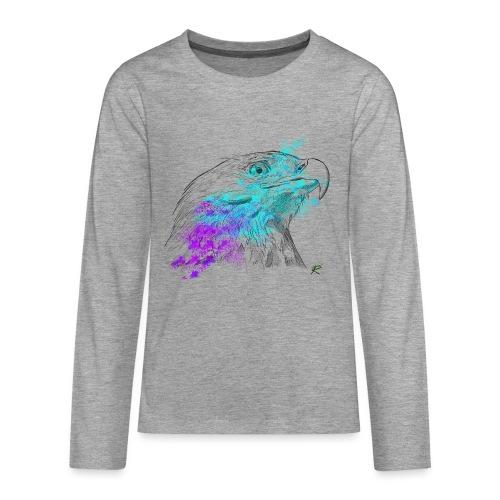 Aquila color - Maglietta Premium a manica lunga per teenager