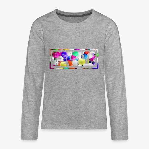 Born to be wild - Teenager Premium Langarmshirt