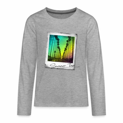 Summer Time - Teenagers' Premium Longsleeve Shirt