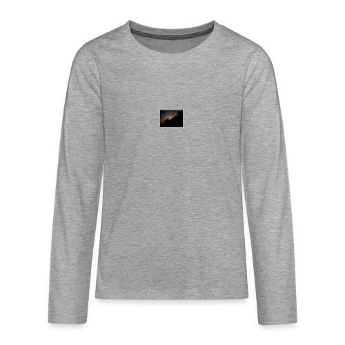 Cielo eclipsado - Camiseta de manga larga premium adolescente