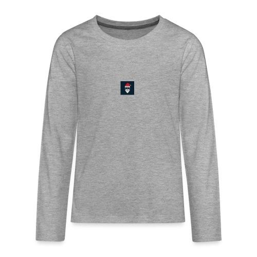 Trap Navideño - Camiseta de manga larga premium adolescente