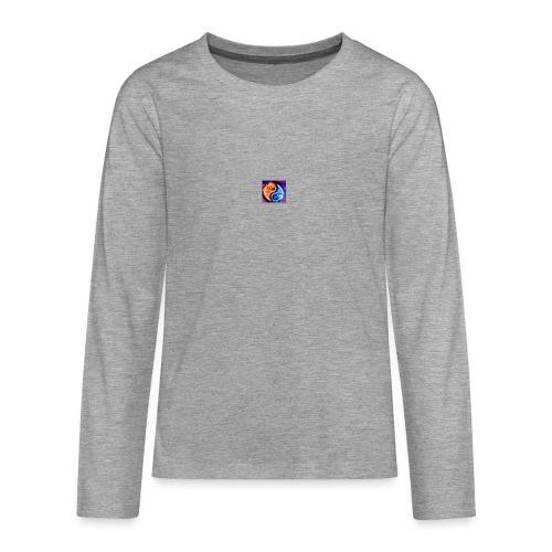The flame - Teenagers' Premium Longsleeve Shirt