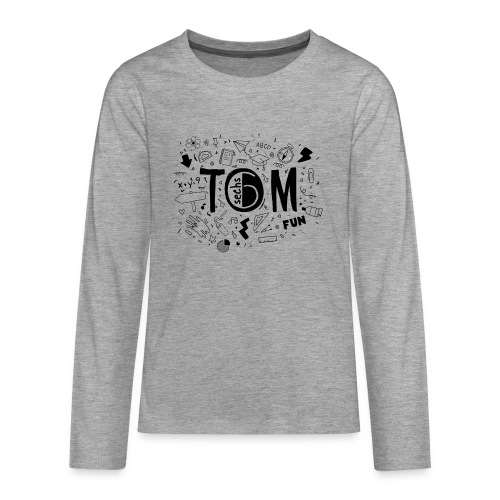 Tom goes to school - Teenager Premium Langarmshirt