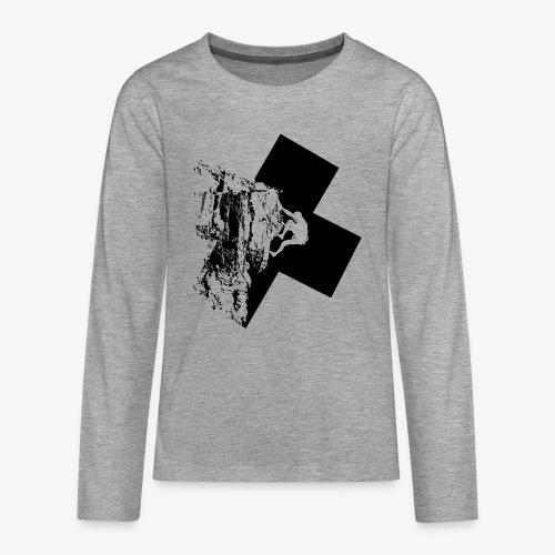 Escalada en roca - Teenagers' Premium Longsleeve Shirt