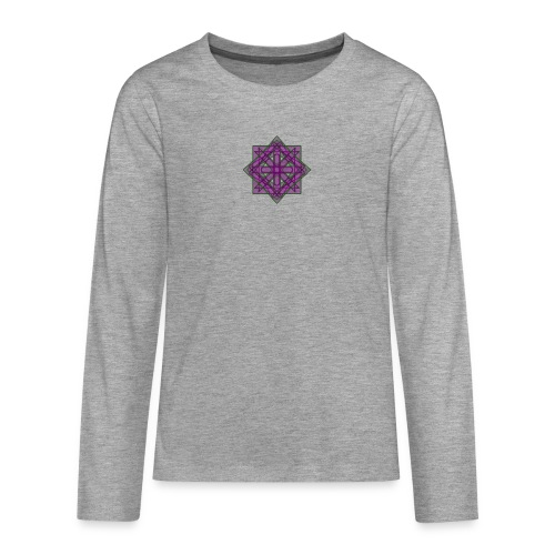 geometronology - Teenagers' Premium Longsleeve Shirt