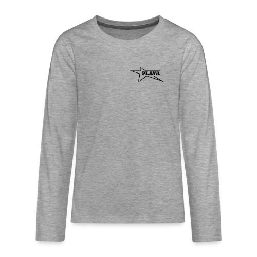 Logo png - Teenagers' Premium Longsleeve Shirt